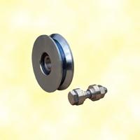 Roulette Ø60mm en V