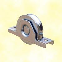 Roulette acier à encastrer U Ø120mm