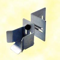 Avaloir Butoir de réception rail 68x68mm pour portail autoportant