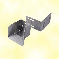 Butoir de réception inox pour rail de 72x72mm