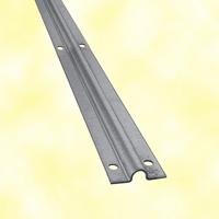 Rail à visser en U Ø20mm 3m