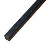 Barre profilée carré 14x14mm longueur 3m lisse en acier laminé brut