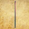 Poteau de cloture Linear a sceller 1350mm