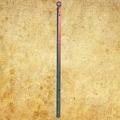 Poteau d'angle de cloture Linear a sceller 1650mm