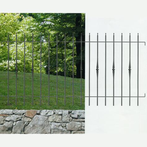 grille de cloture siena 10 pr te poser ft42241 grille haut. Black Bedroom Furniture Sets. Home Design Ideas