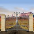 Portail ARTEMIDE 3m 14x14mm ouverture motorisable