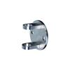 Platine ronde et anneaux de serrage INOX316