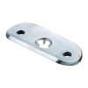 Patte support de main courante plate INOX316