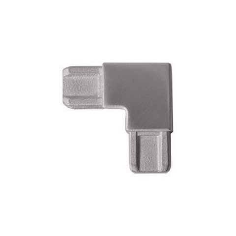 Raccord d'angle pour profil d'encadrement 18x12mm INOX304