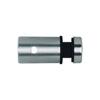 Connecteur en applique pour plexi épr 8mm et cable Ø6mm