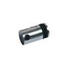 Connecteur en applique pour plexi épr 8mm et rond Ø10mm