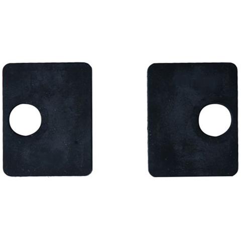 Jeu de 2 caoutchouc pour pinces carrées 45mm à verre  epr 10mm