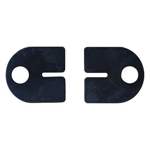 Jeu de 2 caoutchouc pour pinces rondes 40x50/55mm à verre epr 8,76mm