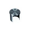 Bouchon de main courante inox ronde Ø42,4mm