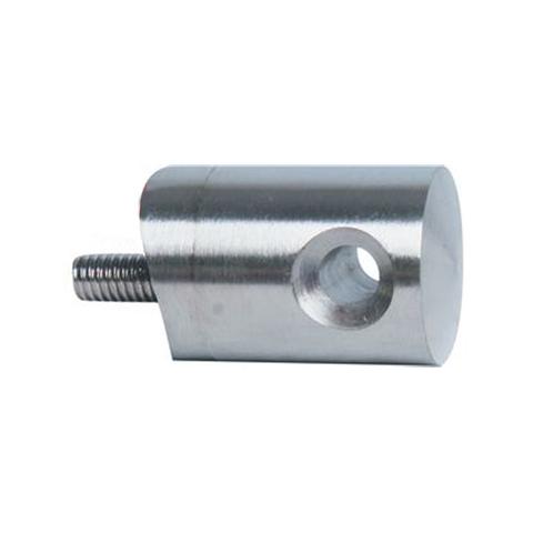 Connecteur en applique pour passage câble Ø6mm sur tube