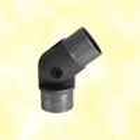 Coude réglable 90°-270° de main courante ronde en acier ø42,4mm epr2mm