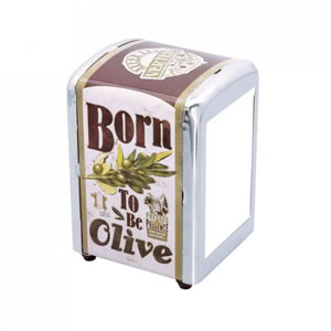 Distributeur serviette Born to be olive