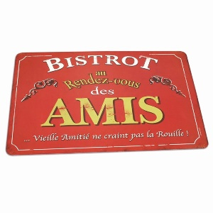 Set de Table  Bistrot des amis