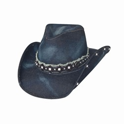 Chapeau Better than yesterday Denim bleu  Bullhide