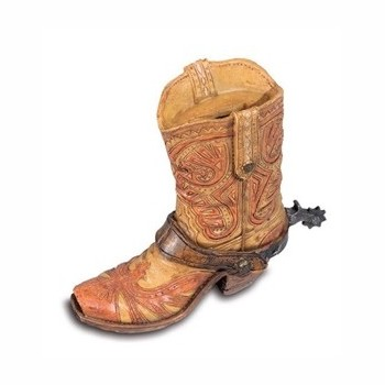 Tirelire Botte western