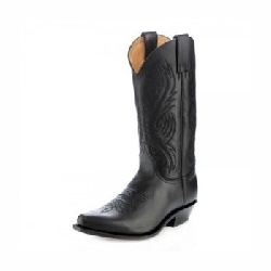 Bottes 2605 Red Pull Oil Negro