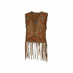 Gilet Joleen brown
